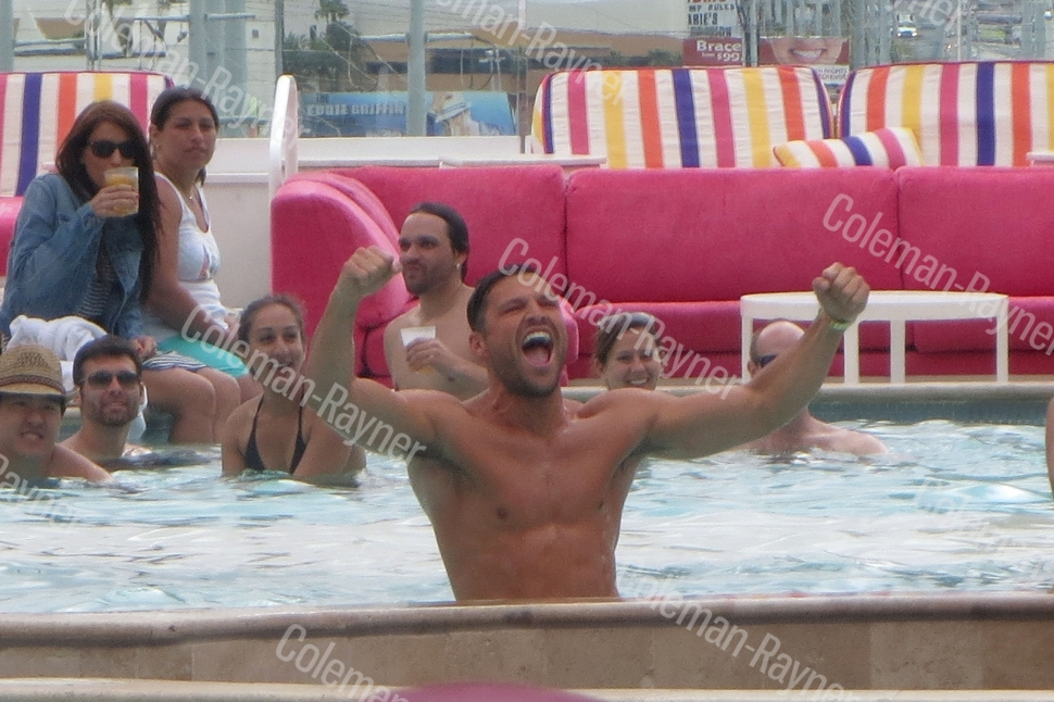 Boys gone wild! The Only Way Is Essex star Mark Wright's Vegas stag party