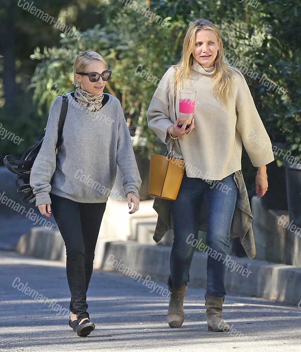 Sisters-in-Law Cameron Diaz and Nicole Richie's girls' day out