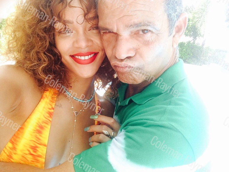 Rihanna's dad Ronald Fenty reveals the singer bought him a house!
