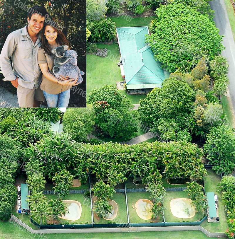 So in love! Bindi Irwin and Chandler Powell move into secret love nest at Australia's Zoo