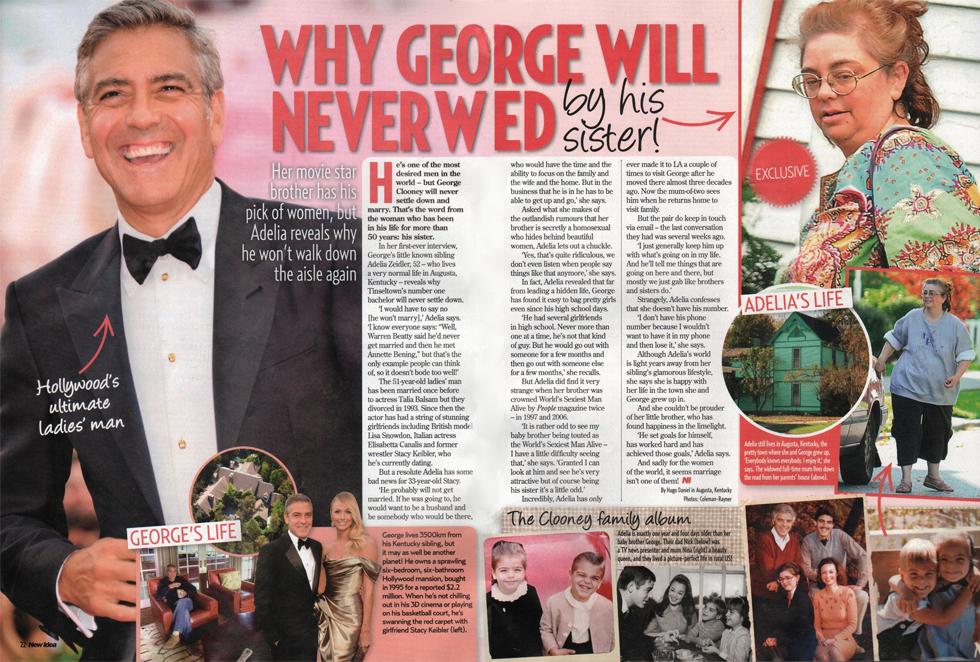 George Clooneys Forced To Defend The A List Actor Hes NOT Gay